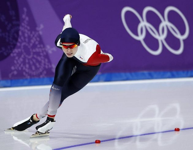 Nikola Zdráhalová během závodu na 1500 m.