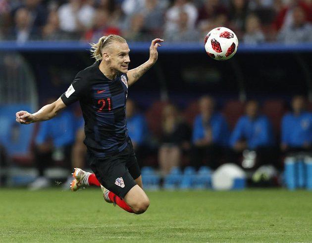Ve čtvrtfinále MS byl Domagoj Vida jedním z chorvatských hrdinů, v semifinále ale vedla brzy Anglie.