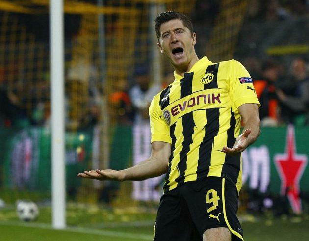 Hrdina Dortmundu a střelec středečního večera - Robert Lewandowski.