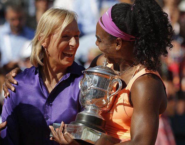 Vítězka French Open s legendární tenistkou Martinou Navrátilovou.