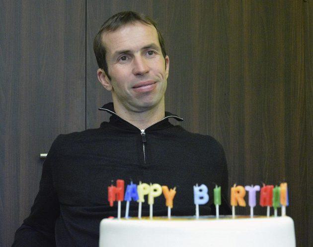 Tenista Radek Štěpánek v pátek oslavil 37. narozeniny.