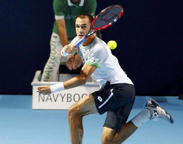 Lukáš Rosol odehrál proti španělskému velikánovi Nadalovi skvělý zápas.