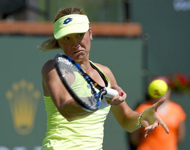 Česká tenistka Denisa Allertová porazila v Indian Wells Němku Angelique Kerberovou.