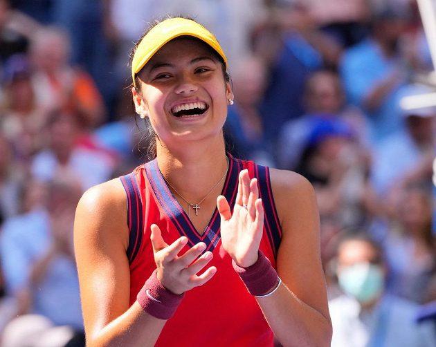 Splněný sen! Tenistka Emma Raducanuová vyhrála US Open.