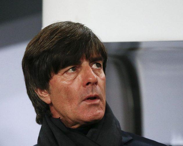 Německý kouč Joachim Löw před utkáním s Českem.