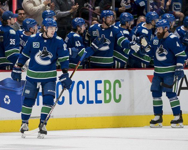 Hokejisté Vancouveru si poradili se Chicagem