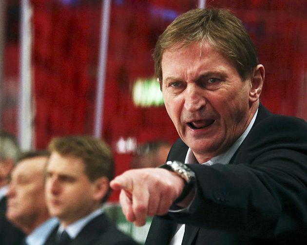 Kouč hokejové reprezentace Alois Hadamczik.