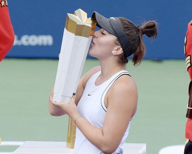 Kanaďanka Bianca Andreescuová vyhrála turnaj v Torontu.