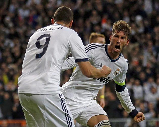 Sergio Ramos (vpravo) zvýšil na 2:0, ale nestačilo to.