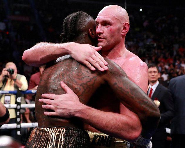 Wilder proti Furymu uhájil mistrovský pás WBC.