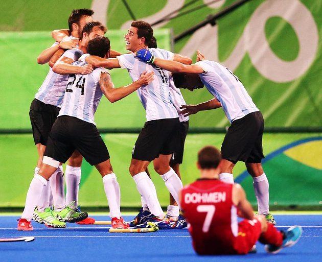 Argentinci ve finále zdolali favorizovanou Belgii.