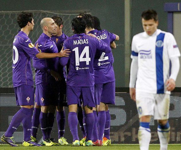 Fotbalisté Fiorentiny se mohou radovat...
