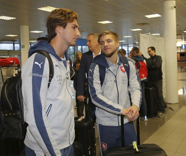 Česká fotbalová rerpezentace vyrazila na přípravný turnaj do Dauhá.