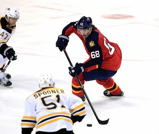 Jaromír Jágr, třetí nejproduktivnější hokejista v historii NHL.