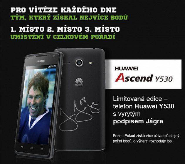 Pro nejlepší z vás máme připraven telefon Huawei.