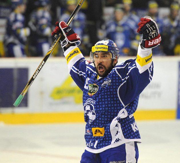 Obránce Jozef Kováčik vstřelil v závěru utkání druhou branku Komety.