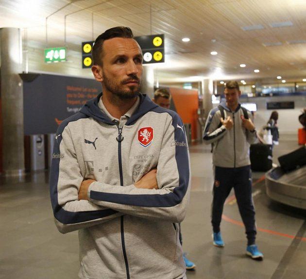 Oslo, Tomáš Sivok a spol. čekají na bagáž...