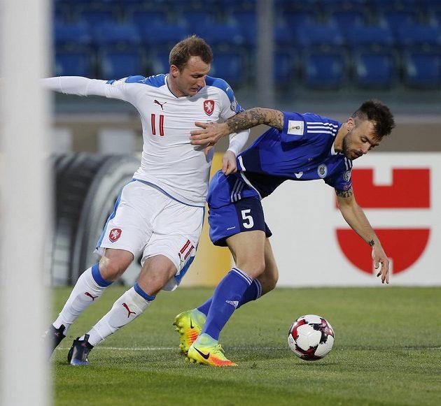 Michael Krmenčík (vlevo) a Matteo Vitaioli ze San Marina.