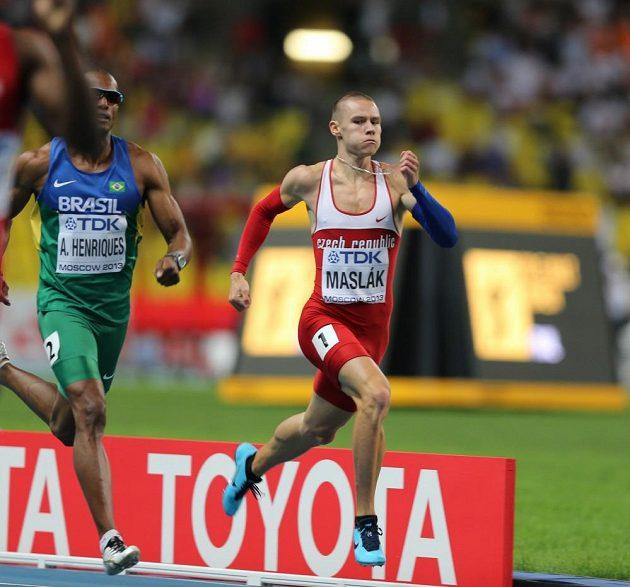 Pavel Maslák si běží pro páté místo z mistrovství světa.