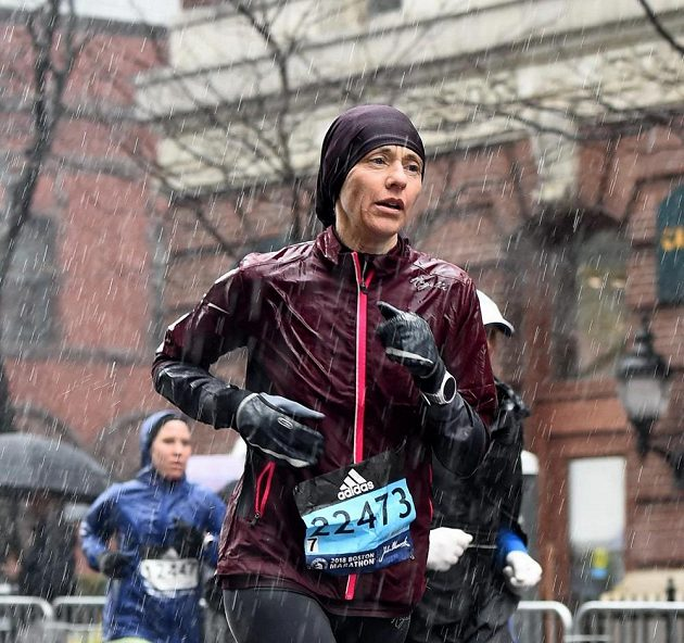 Boston Marathon: Počasí by si člověk přál klidně i lepší.