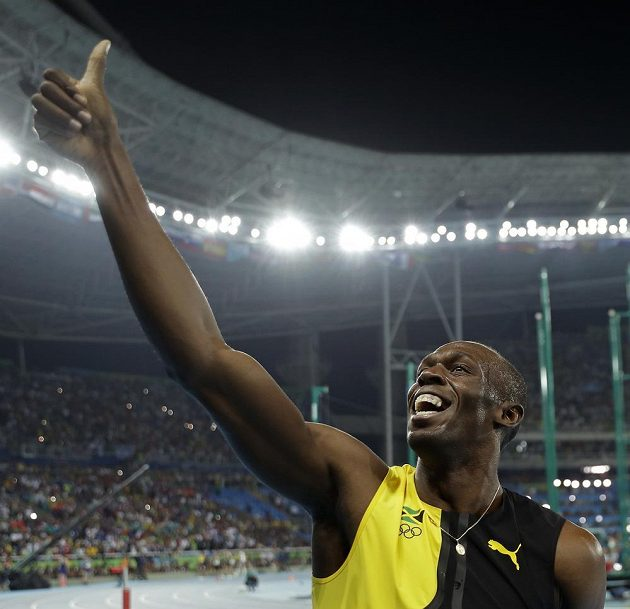 Stále vysmátý Usain Bolt. V Riu už jedno zlato získal, přidá další?