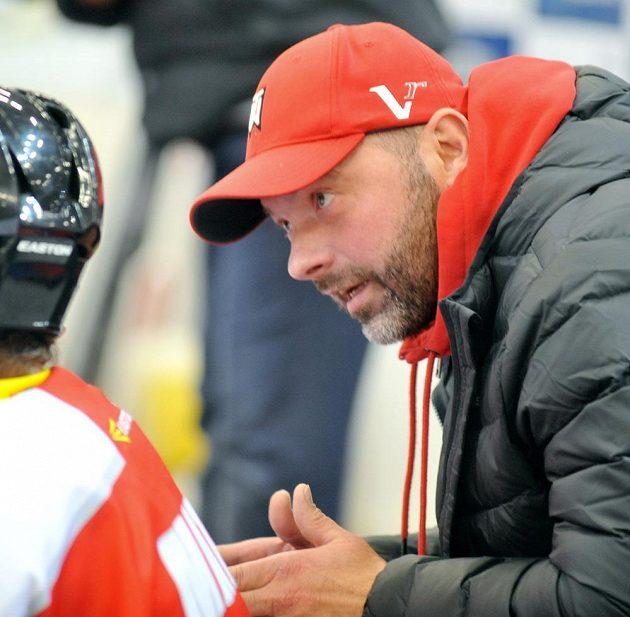 Trenér Olomouce Jiří Dopita.
