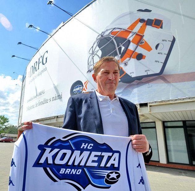 Alois Hadamczik bude příští dva roky trénovat Kometu.