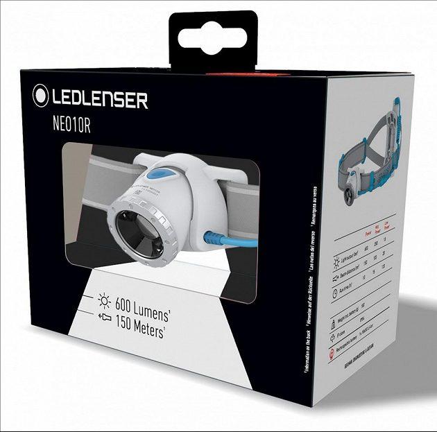 Běžecká čelovka Ledlenser Neo 10R - v originálním balení.