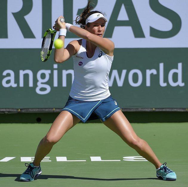 Britka Johanna Kontaová (na snímku) porazila Denisu Allertovou a v osmifinále turnaje v Indian Wells změří síly s Karolínou Plíškovou.