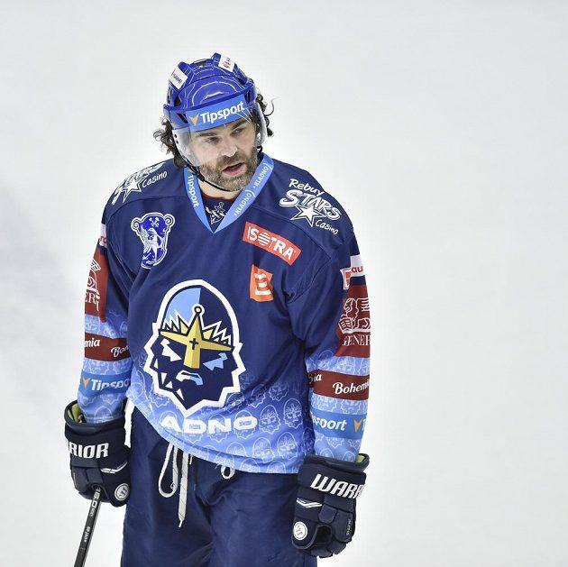 Jaromír Jágr z Kladna sice vstřelil Mladé Boleslavi gól, ale jeho Rytíři prohráli.
