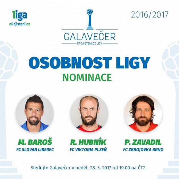 Osobnost ligy - nominace.