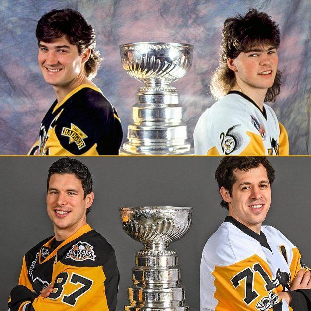 Hvězdy Pittsburghu. Minulá a současná generace.
