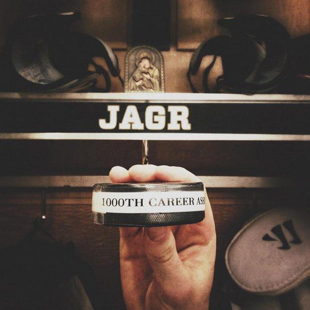 Jágr dosáhl v NHL dalšího milníku.