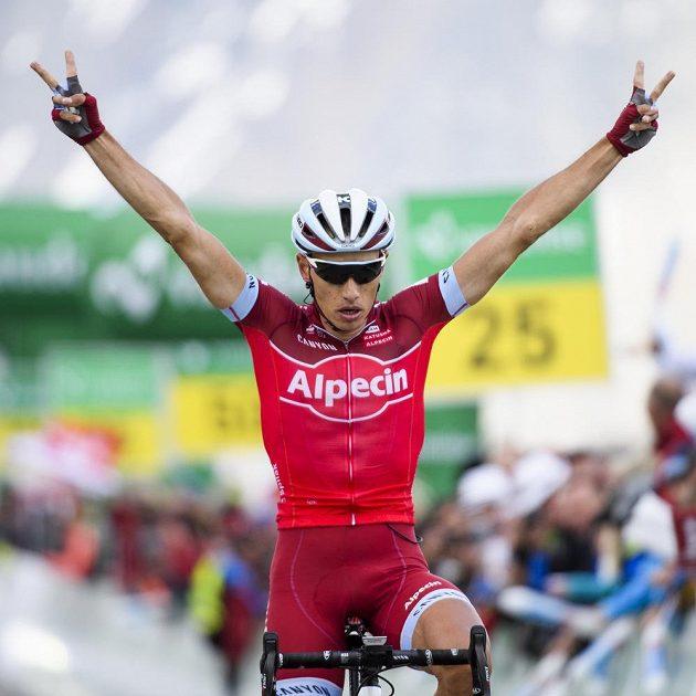 Simon Špilak ze Slovinska vyhrál sedmou etapu Kolem Švýcarska.