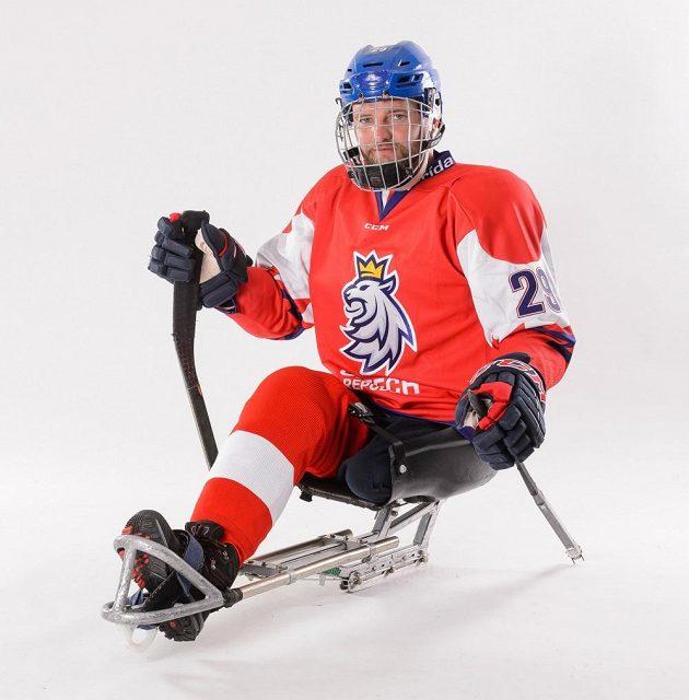Nové sady dresů samozřejmě obléknou i sledge hokejisté.