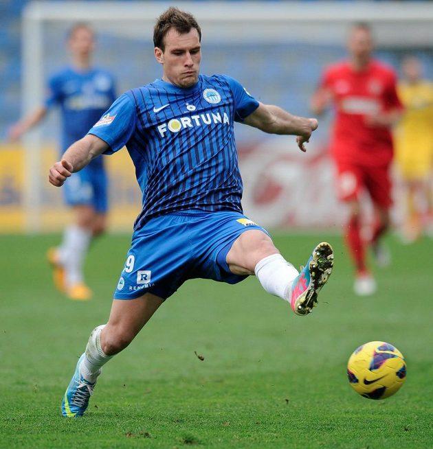 Liberecký Michael Rabušic se proti Brnu dvakrát trefil a prolomil dlouhé čekání na gól.
