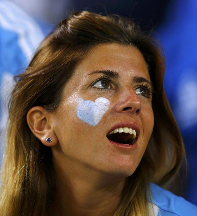 Také argentinské fanynky hýřily po zápase s Bosnou a Hercegovinou spokojeností.