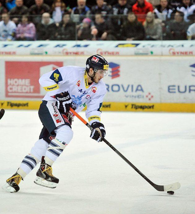 Autor dvou gólů Tomáš Filippi z Liberce, který ale nakonec prohrál s Třincem po nájezdech.