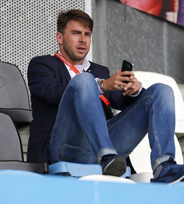Zdeněk Grygera na stadiónu v Tours, kde trénovala česká fotbalová reprezentace během ME.