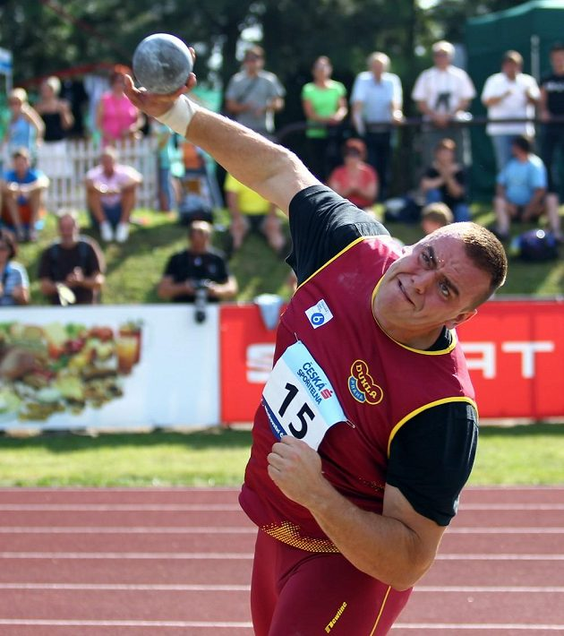 Ladislav Prášil při mistrovství republiky družstev.
