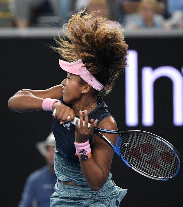 Japonka Naomi Ósakaová na Australian Open.