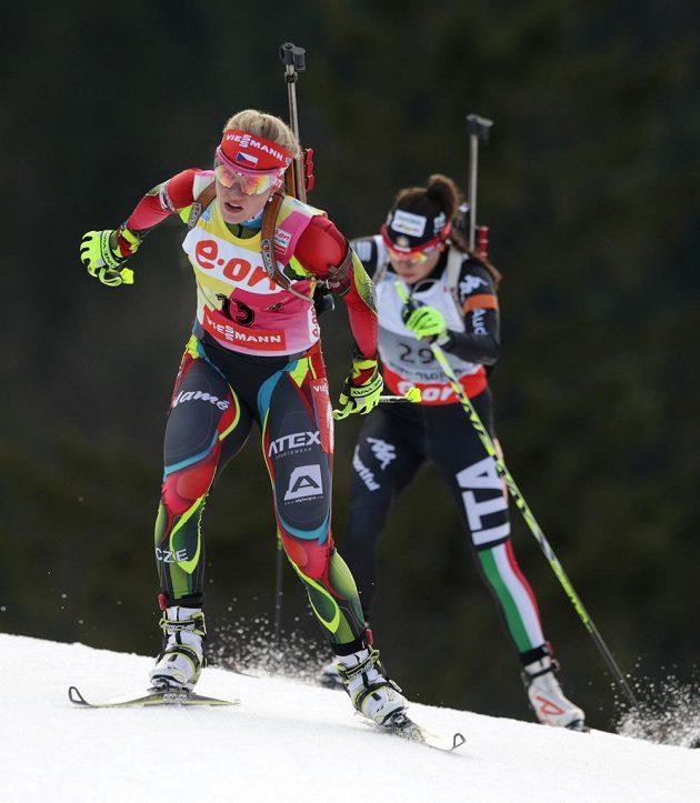 Gabriela Soukalová nenašla ve vytrvalostním závodu v Ruhpodlingu přemožitelku.