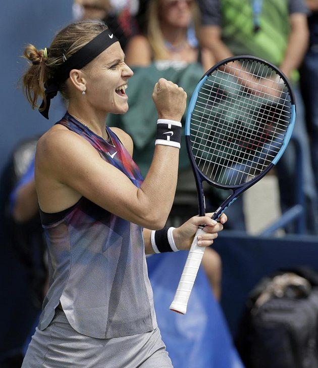 Je to tam! Lucie Šafářová postoupila na US Open do osmifinále a vyrovnala své dosavadní maximum ve Flushing Meadows.