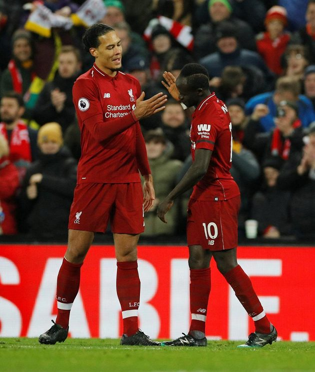 Fotbalisté Liverpoolu v divoké přestřelce zdolali Crystal Palace