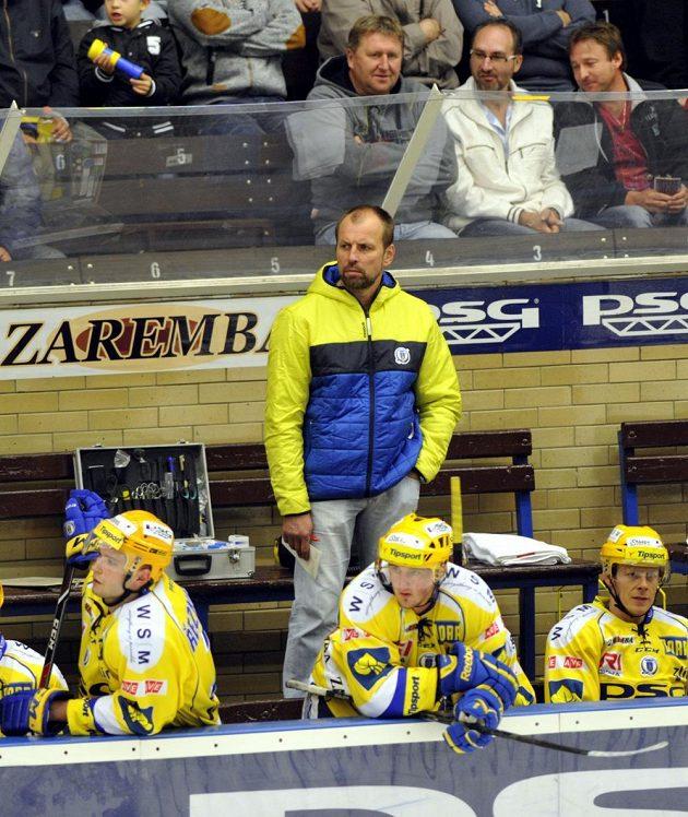 Zlínský trenér Rostislav Vlach.