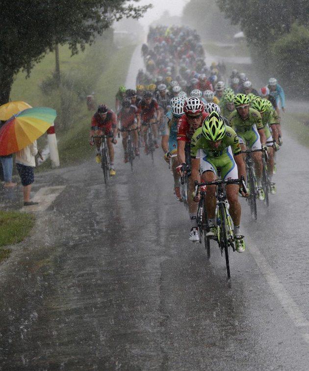 A hustý déšť.