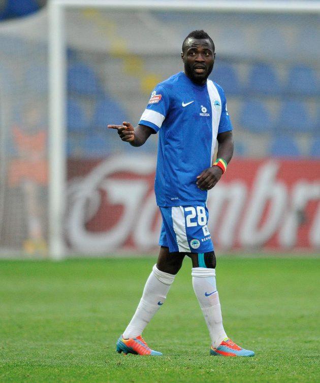 Konžský útočník Dzon Delarge (na snímku) rozhodl o vítězství Liberce nad Teplicemi 2:1.