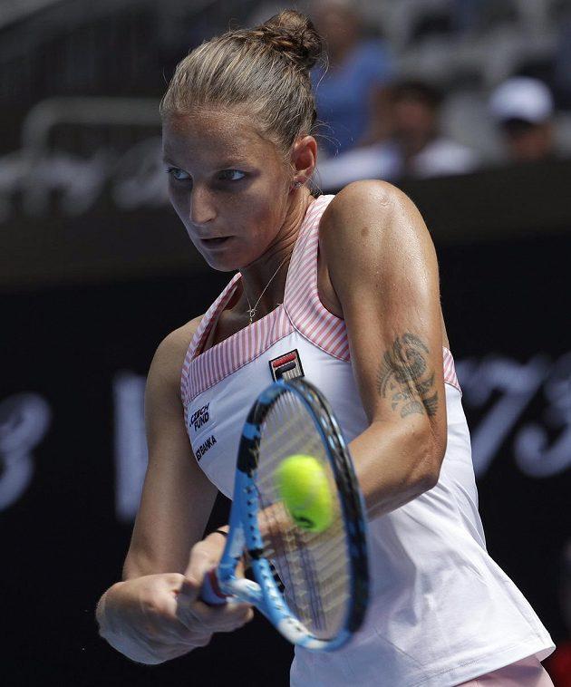 Karolina Plisková si zajistila postup do druhého kola Australian Open