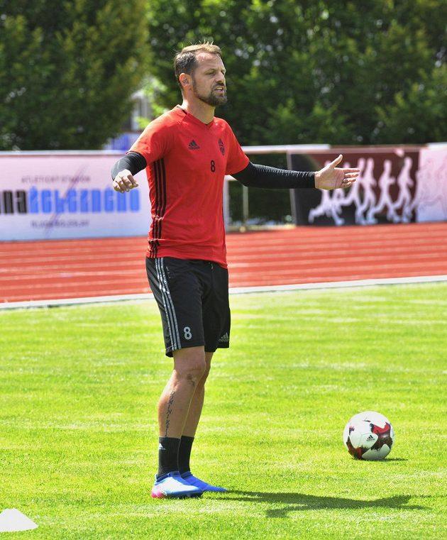 Fotbalisté Mladé Boleslavi zahájili přípravu před sezónou. Nechyběl ani záložník Marek Matějovský.
