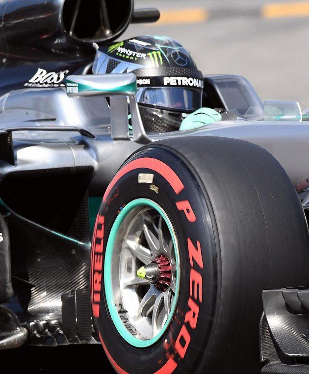 Nico Rosberg během kvalifikace v Belgii.